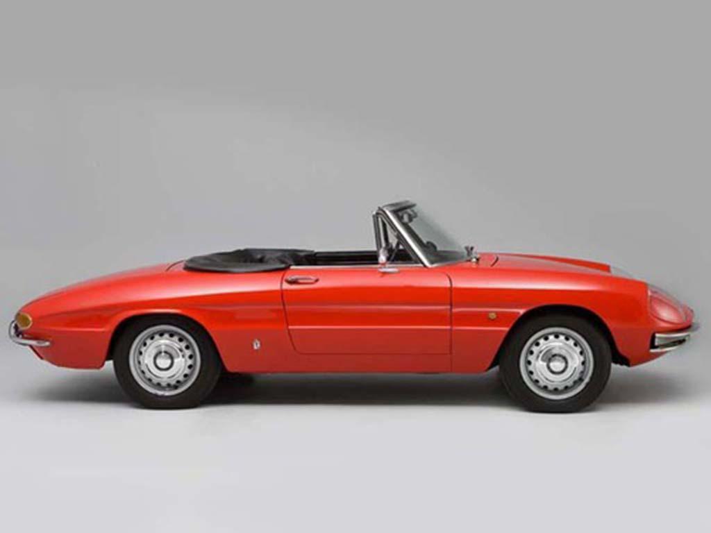 Alfa Romeo 1600 Spider Duetto 1966 Alfa Romeo Spider ...