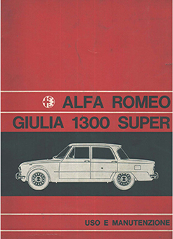 Catalogo GIULIA 1300 Super