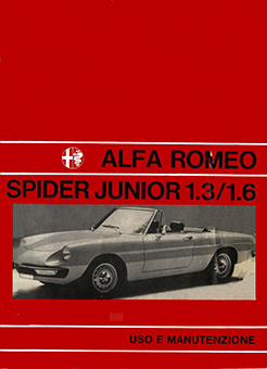 Catalogo Spider Junior 1300 e  1600